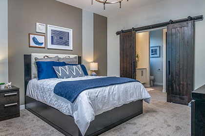 Master Bedroom Suite - Show Home - 17 Fetterly Way, Taylor Farm | Avanti Custom Homes - Custom Homes - Winnipeg - Manitoba