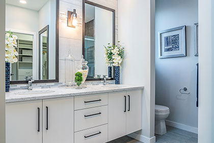 Master Ensuite - Show Home - 17 Fetterly Way, Taylor Farm | Avanti Custom Homes - Home Builder - Winnipeg - Manitoba